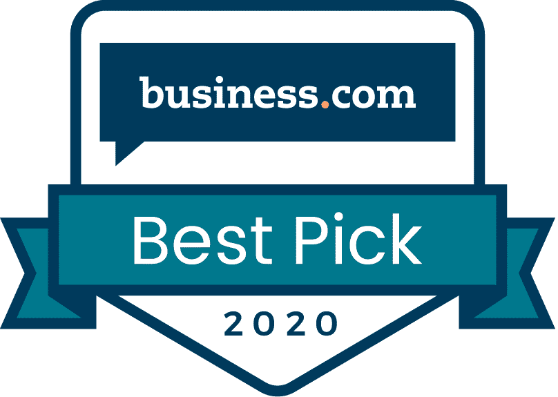 Business.com Best Pick Badge