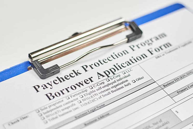 paycheck protection program form